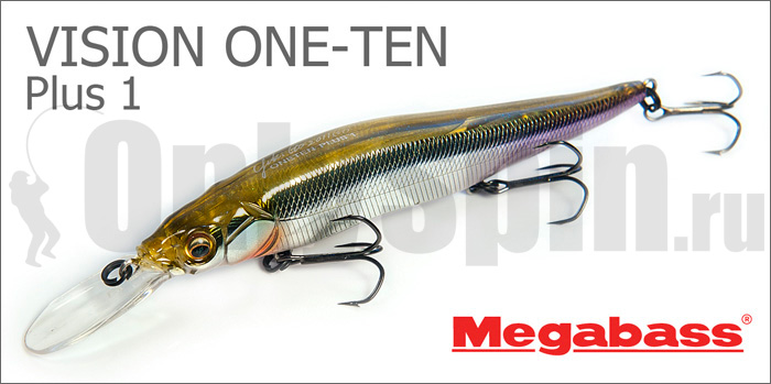 megabass vision one plus